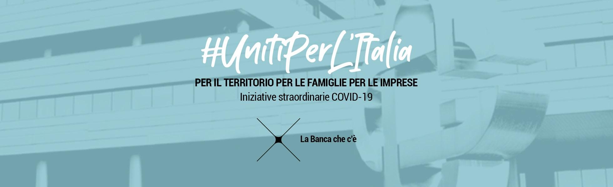 Covid-19 Uniti per l'Italia
